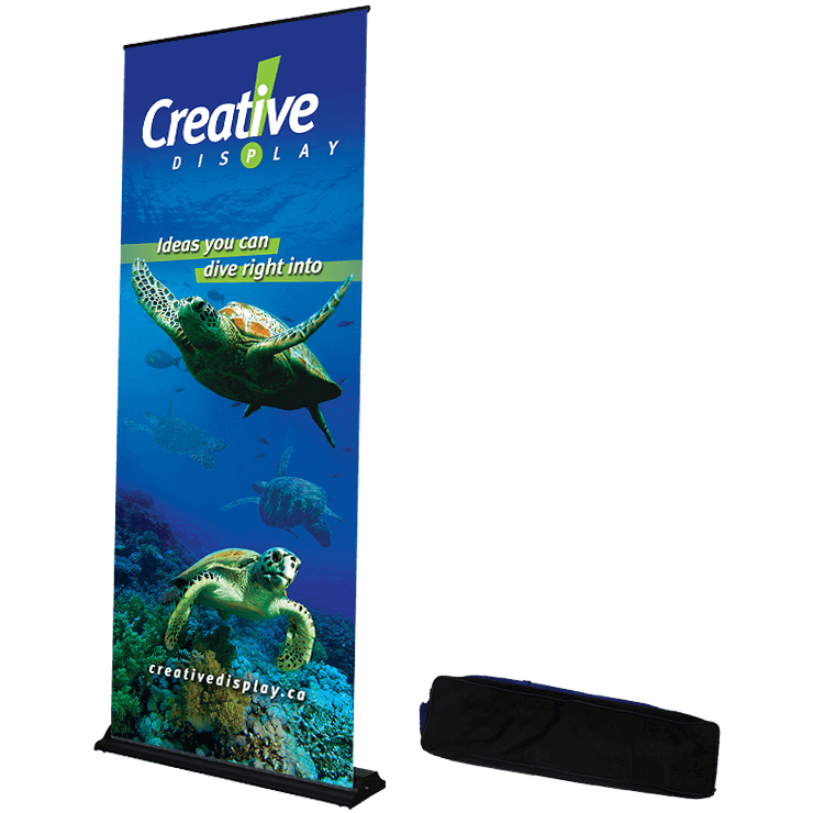 Roll It Up Banner Stand