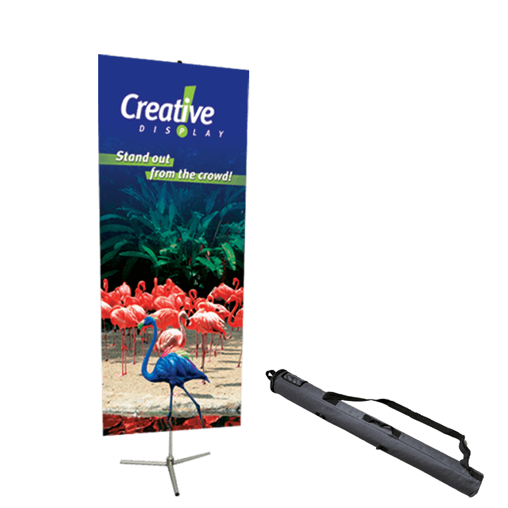 Single Pole Banner Stand