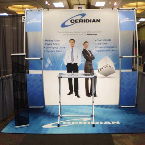 Flooring Creative Display Trade Show Displays