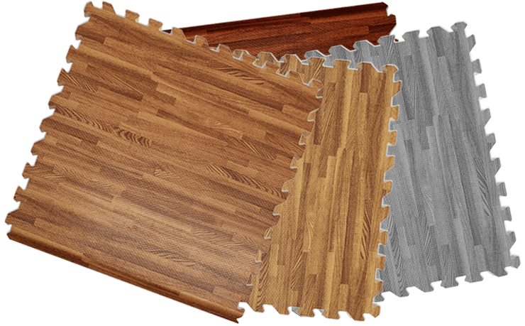 Comfort Wood Grain Tile - Trade Show Flooring
