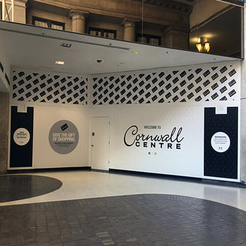 Regina Signage - Cornwall Centre Retail Shopping Mall